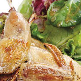 Quagliette in insalata
